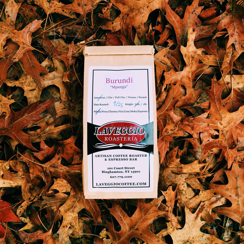 "KC Coffeegeeks review of our Burundi ""Mpanga"""
